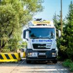 Przewóz złomu i żeliwa ciężarówką BSK Return