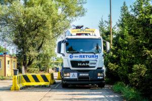Przewóz złomu ciężarówką BSK Return